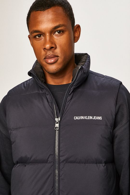 bleumarin Calvin Klein Jeans - Vesta de puf De bărbați