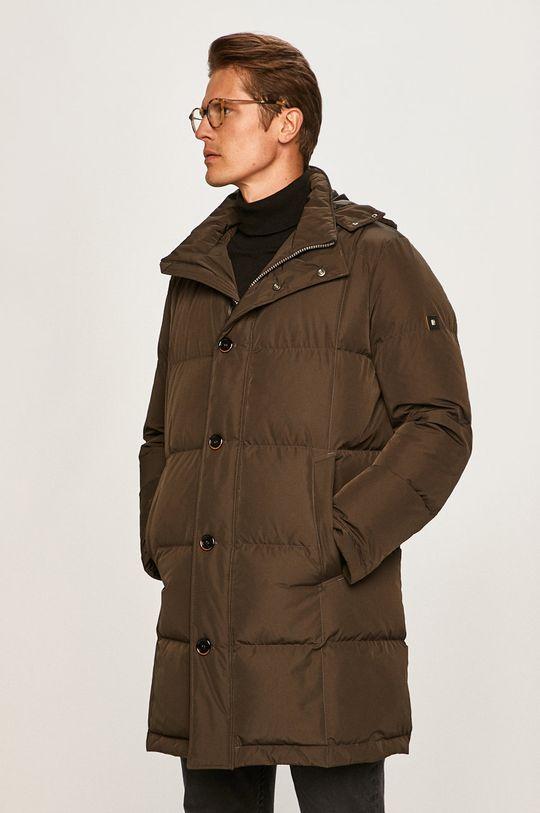 Pierre Cardin - Péřová bunda okrová