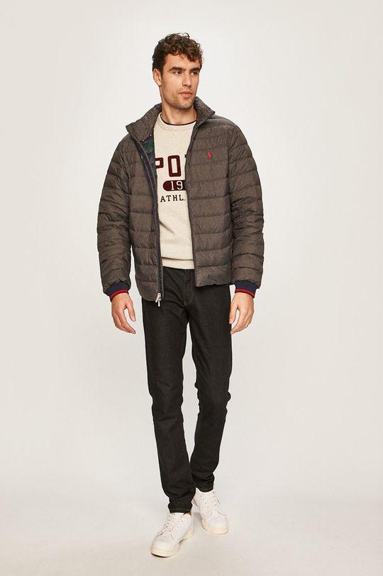 Polo Ralph Lauren - Páperová bunda sivá