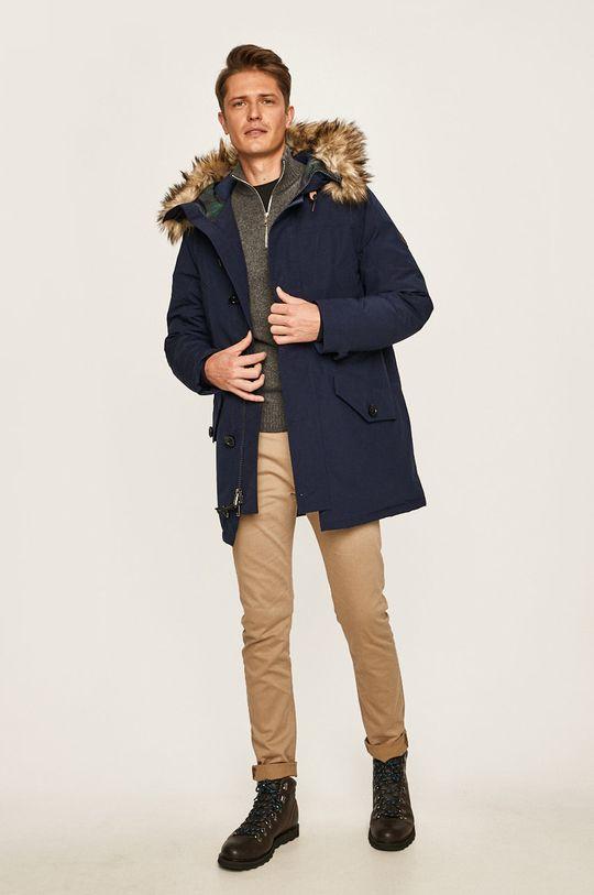 Polo Ralph Lauren - Péřová bunda námořnická modř