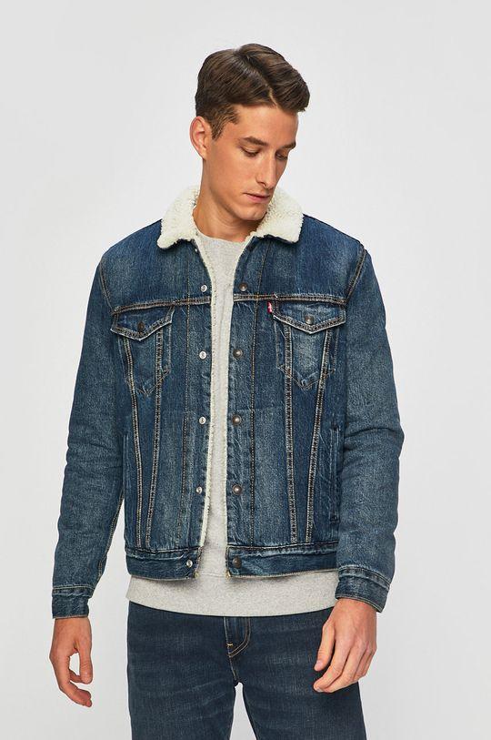блакитний Levi's - Джинсова куртка Чоловічий