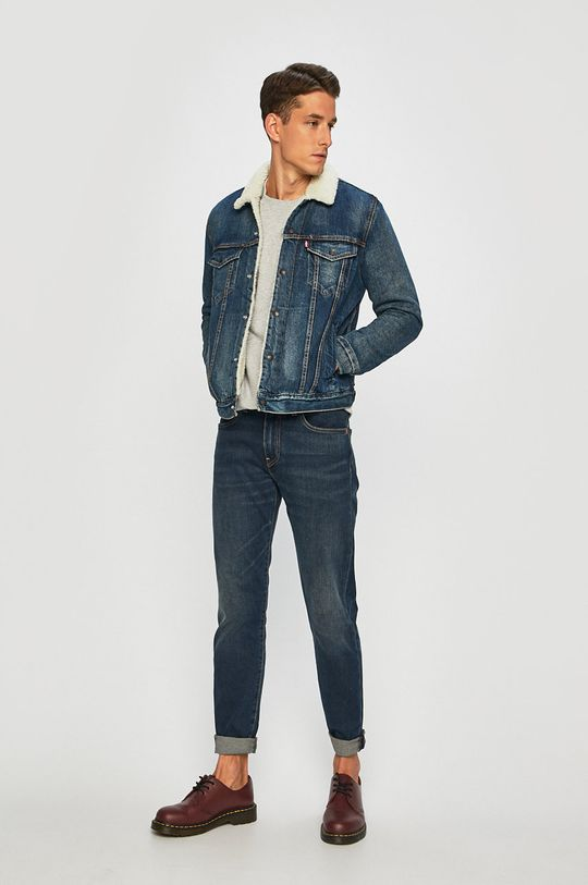 Levi's - Джинсова куртка блакитний