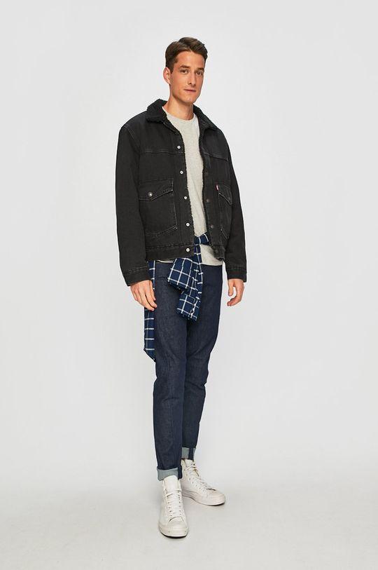 Levi's - Geaca jeans negru