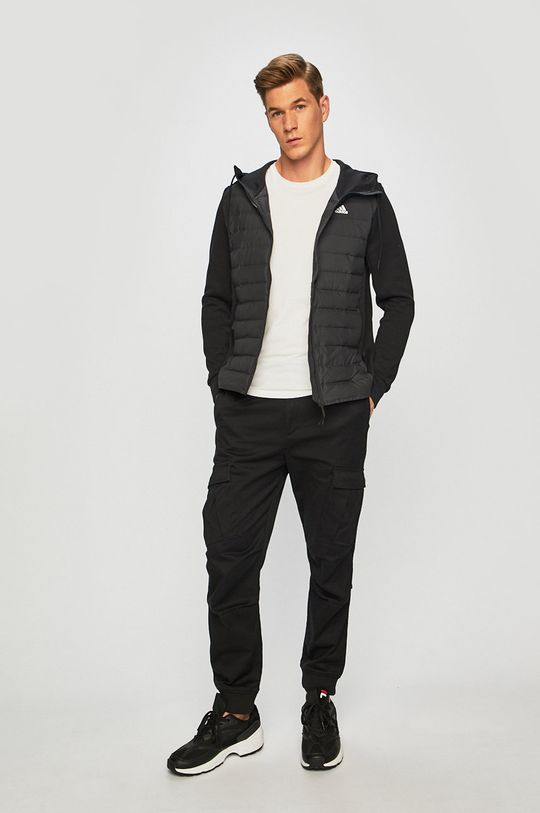 adidas Performance - Péřová bunda černá