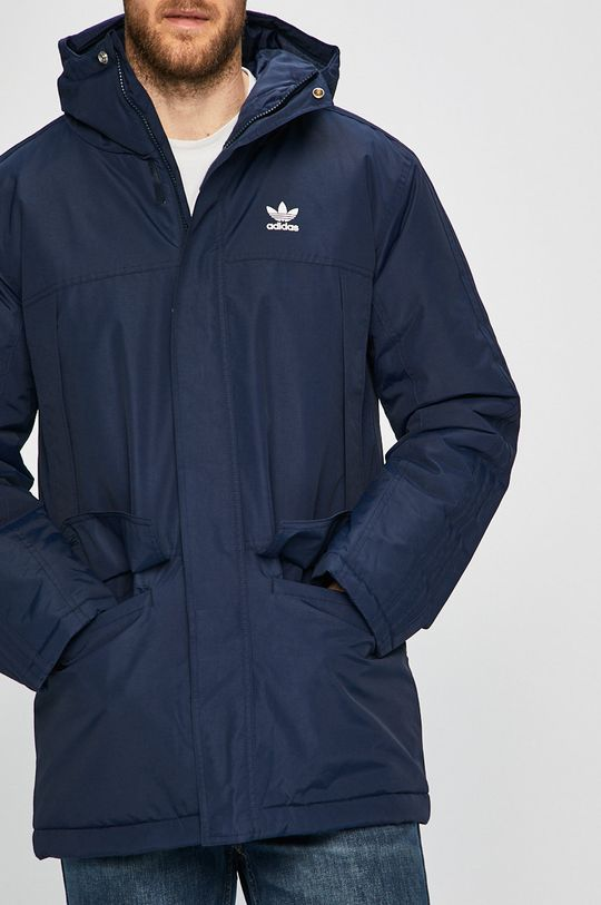 námořnická modř adidas Originals - Bunda