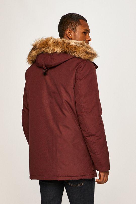 Tommy Hilfiger - Páperová bunda  Podšívka: 100% Polyester Výplň: 40% Páperie, 60% Páperie Základná látka: 63% Bavlna, 37% Polyester Kožušina: 87% Akryl, 13% Modacryl
