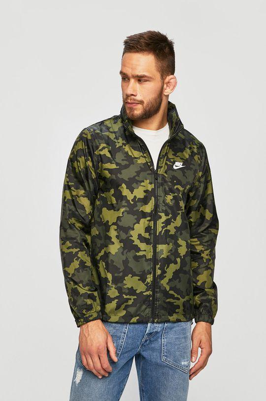 zelená Nike Sportswear - Bunda Pánský