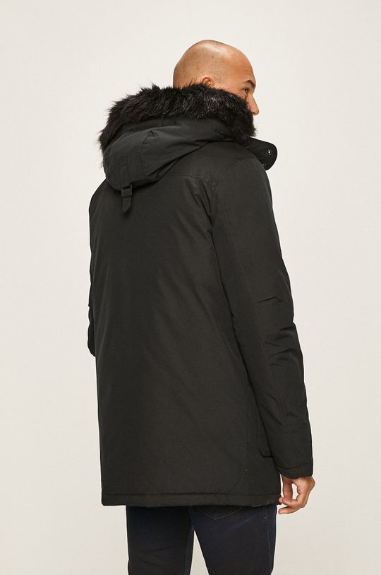 Calvin Klein Jeans - Péřová bunda Podšívka: 100% Polyester Výplň: 30% Peří, 70% Chmýří Hlavní materiál: 63% Bavlna, 37% Polyester Umělá kožešina: 84% Akryl, 16% Modacryl