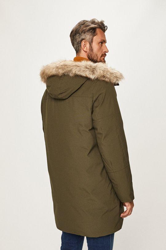 Calvin Klein - Bunda Materiál č. 1: 100% Polyester Materiál č. 2: 2% Elastan, 98% Polyester Materiál č. 3: 53% Akryl, 47% Modacryl