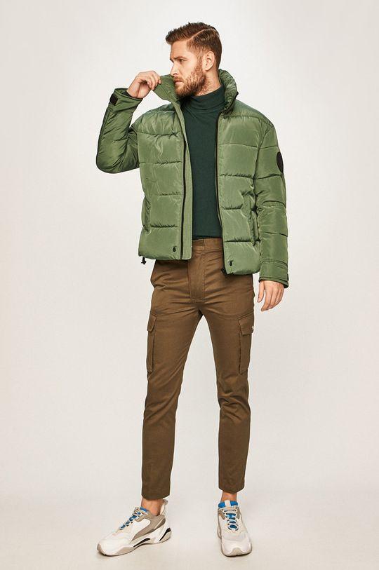 Diesel - Куртка темно-зелений