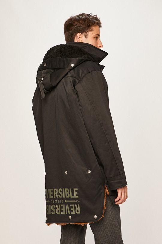 černá Diesel - Oboustranná bunda
