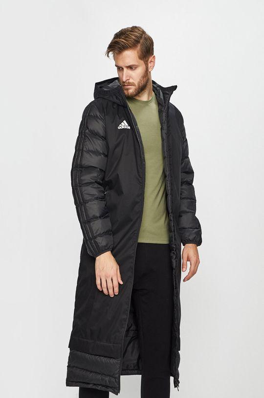 černá adidas Performance - Péřová bunda Pánský