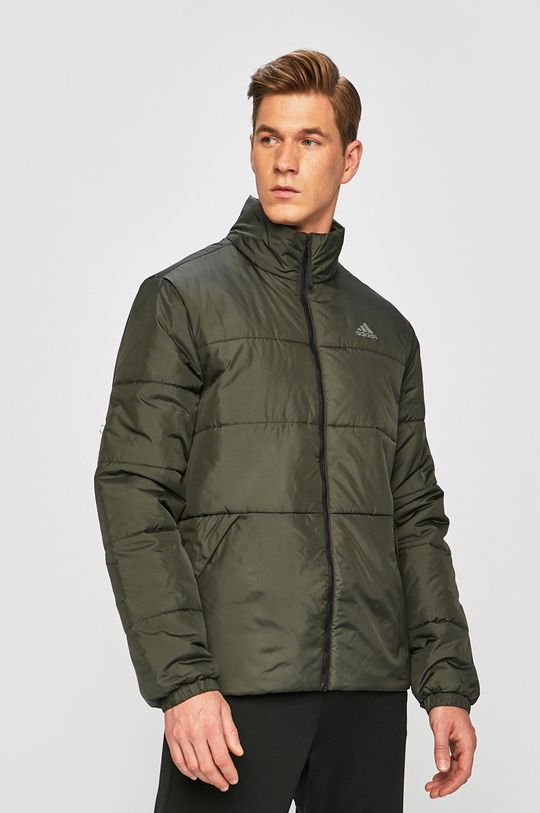 zöld adidas Performance - Rövid kabát Férfi