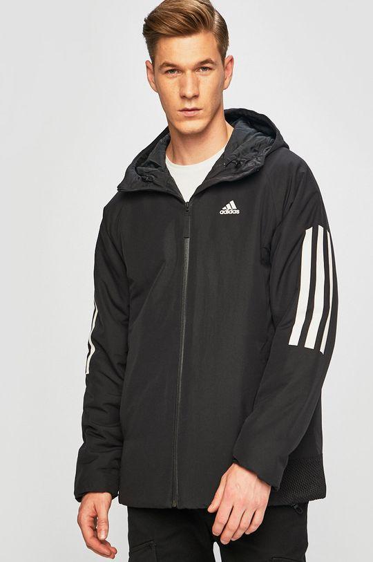 fekete adidas Performance - Rövid kabát Férfi