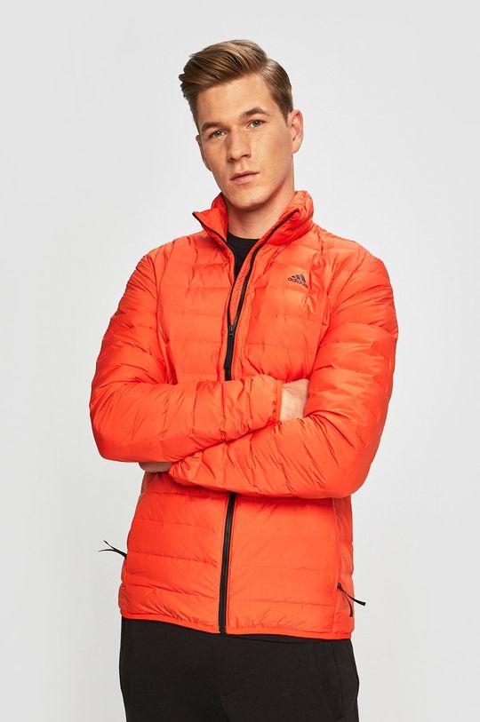 narancssárga adidas Performance - Pehelydzseki Férfi
