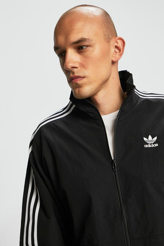 fekete adidas Originals - Rövid kabát Férfi