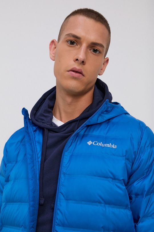 niebieski Columbia - Kurtka puchowa