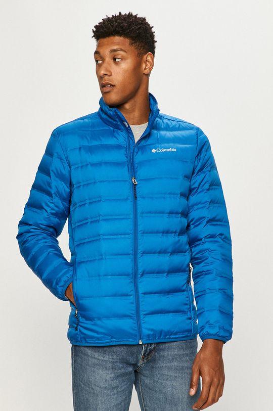 modrá Columbia - Páperová bunda Pánsky