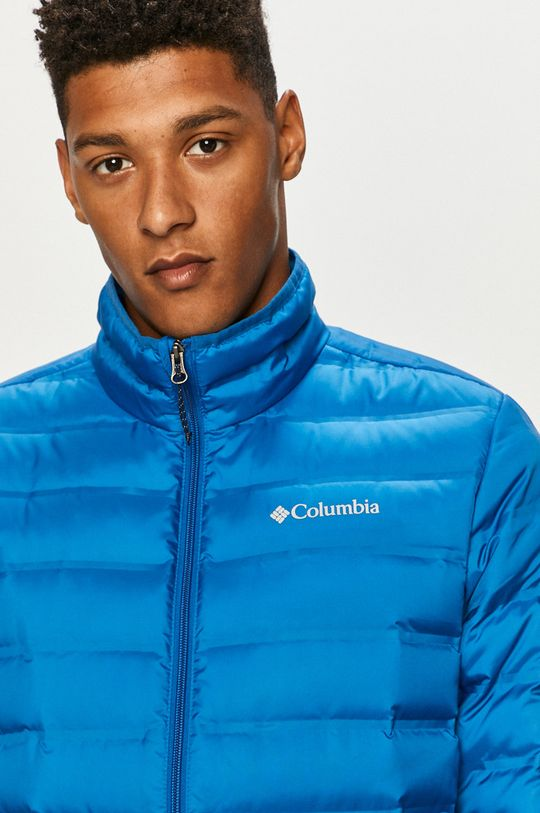 modrá Columbia - Páperová bunda