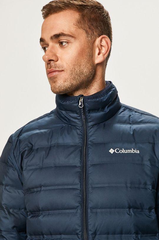 tmavomodrá Columbia - Páperová bunda Pánsky
