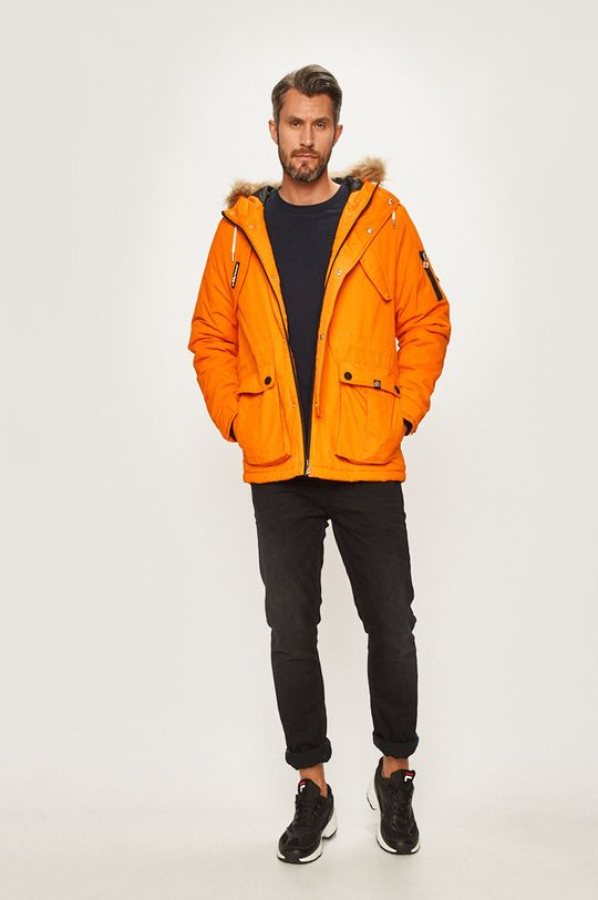 Ellesse - Bunda svetlo oranžová