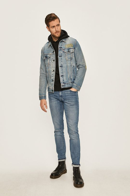 Levi's - Kurtka jeansowa x Star Wars niebieski