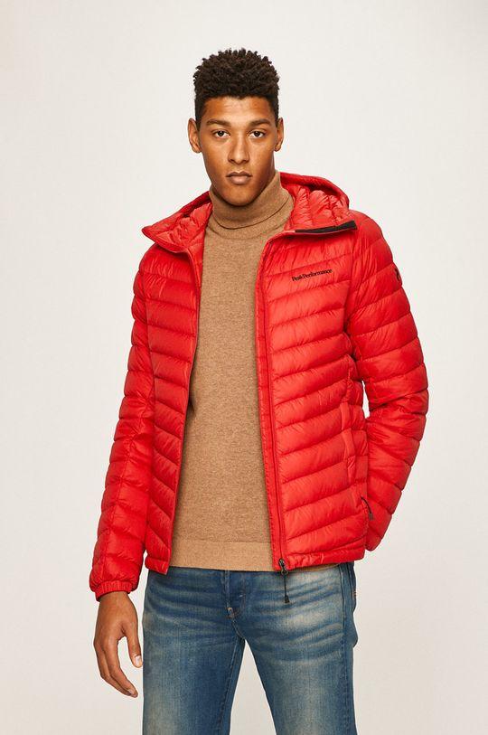 яскраво-червоний Peak Performance - Пухова куртка Чоловічий