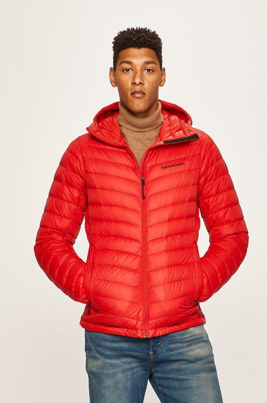 яскраво-червоний Peak Performance - Пухова куртка
