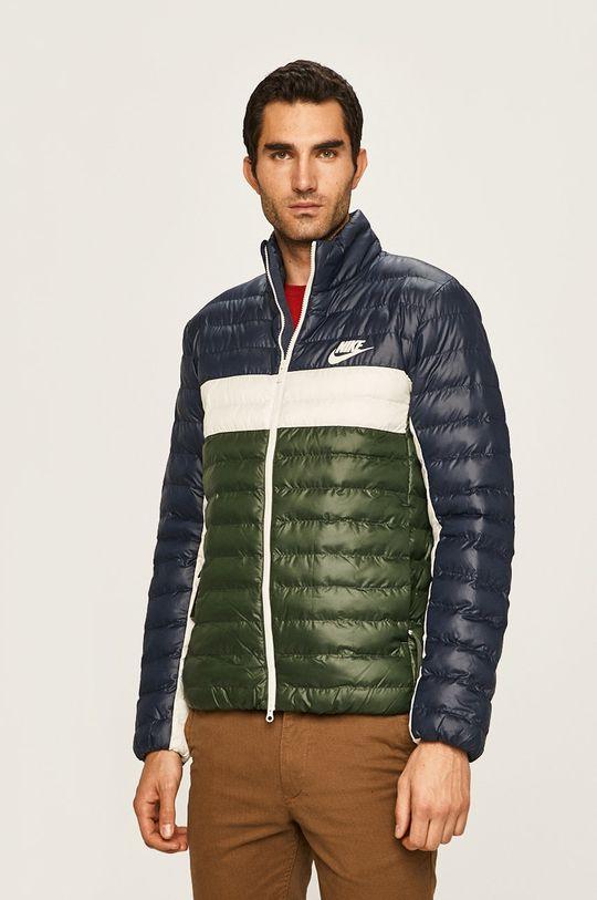 tmavě zelená Nike Sportswear - Bunda Pánský