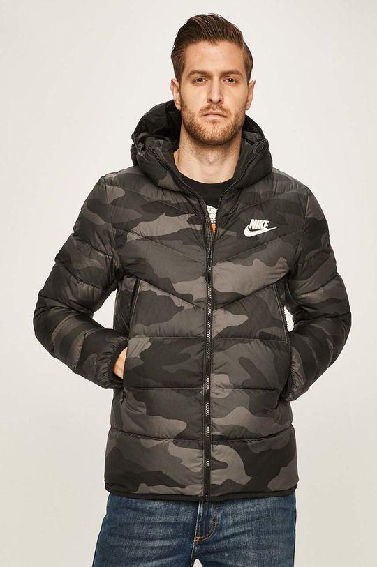 grafitová Nike Sportswear - Péřová bunda