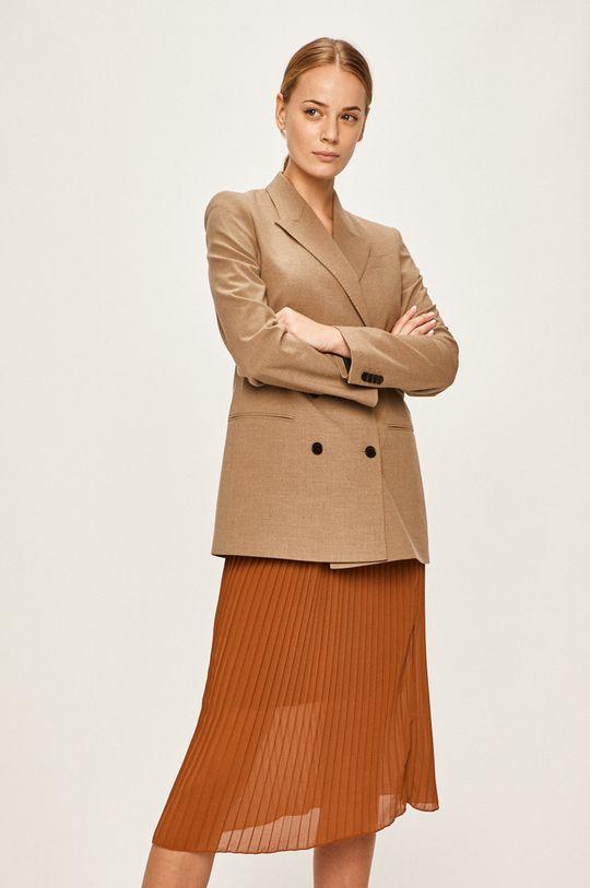 złoty brąz Calvin Klein - Żakiet Damski