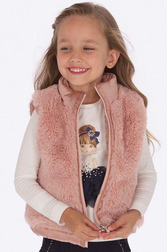 ružová Mayoral - Detská vesta 92 - 134 cm Dievčenský