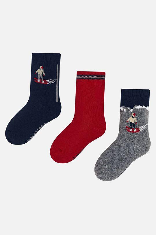 červená Mayoral - Detské ponožky (3-pack) Chlapčenský