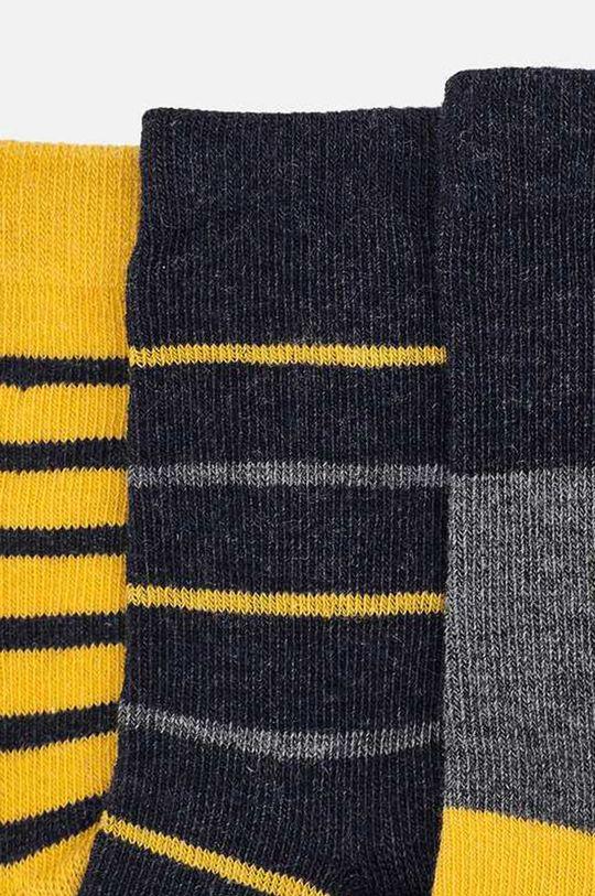 Mayoral - Detské ponožky (3-pack) jantárová