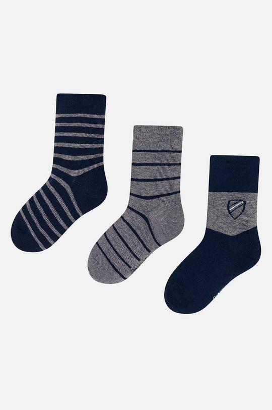 tmavomodrá Mayoral - Detské ponožky (3-pack) Chlapčenský