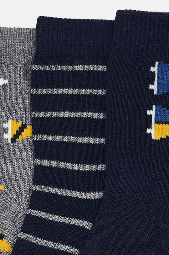 Mayoral - Detské ponožky (3-pack) tmavomodrá