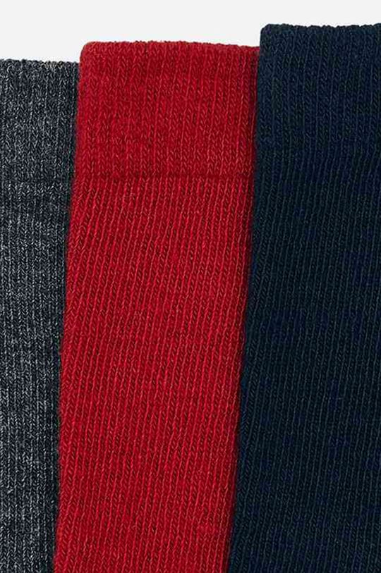 Mayoral - Detské ponožky (3-pack) gaštanová