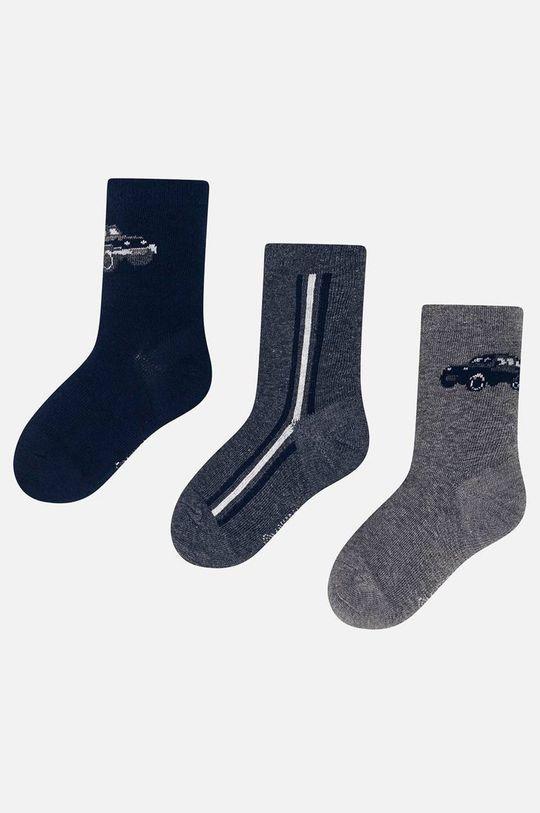 tmavomodrá Mayoral - Detské ponožky (3-pak) 92-152 cm Chlapčenský