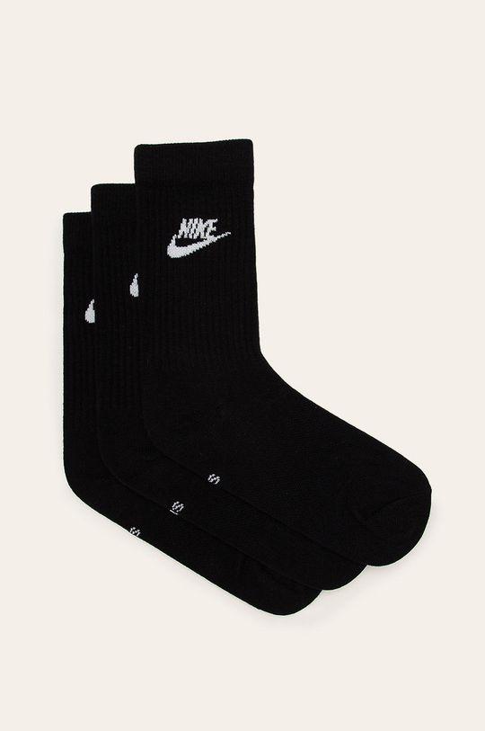 czarny Nike Sportswear - Skarpetki (3-pack) Damski