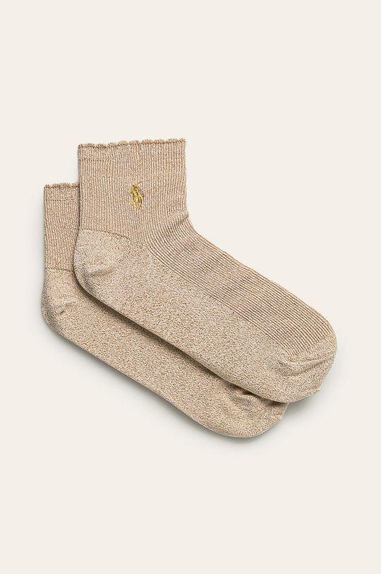 zlatá Polo Ralph Lauren - Ponožky Dámsky