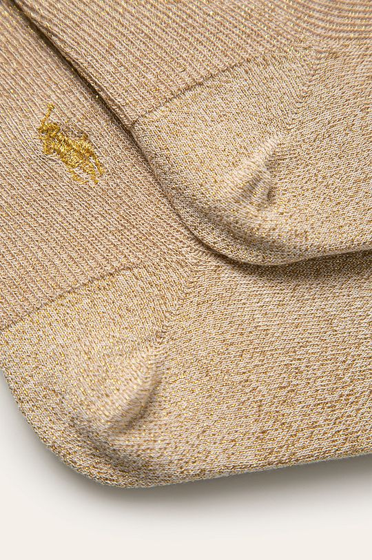 Polo Ralph Lauren - Ponožky zlatá
