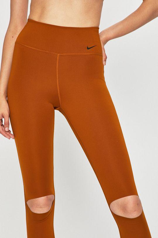 zlatohnědá Nike - Legíny