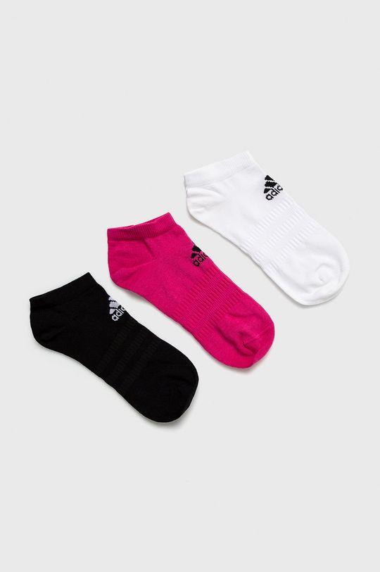 bílá adidas Performance - Ponožky (3-pack) Dámský