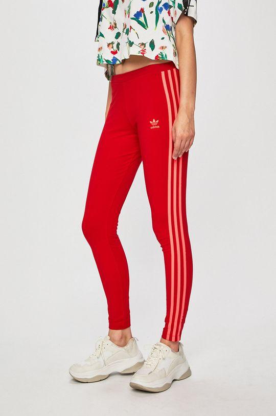 červená adidas Originals - Legíny Dámský