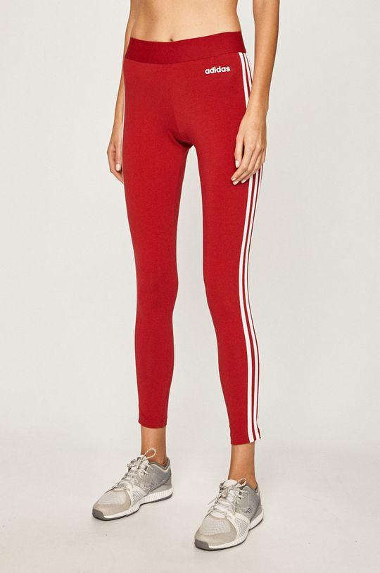 kármin vörös adidas - Legging Női