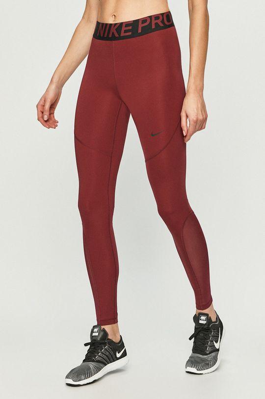 kaštanová Nike - Kalhoty AO9968 Dámský