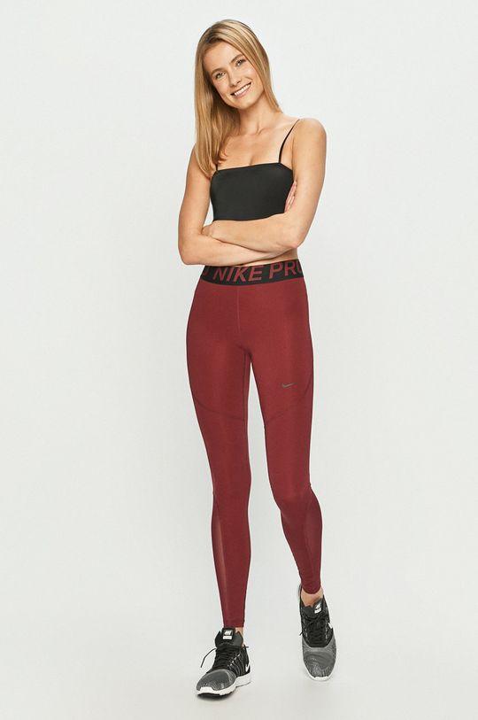 Nike - Kalhoty AO9968 kaštanová