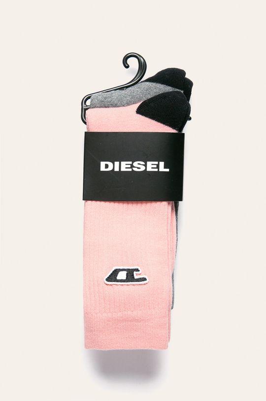 Diesel - Ponožky (2-pak) ružová
