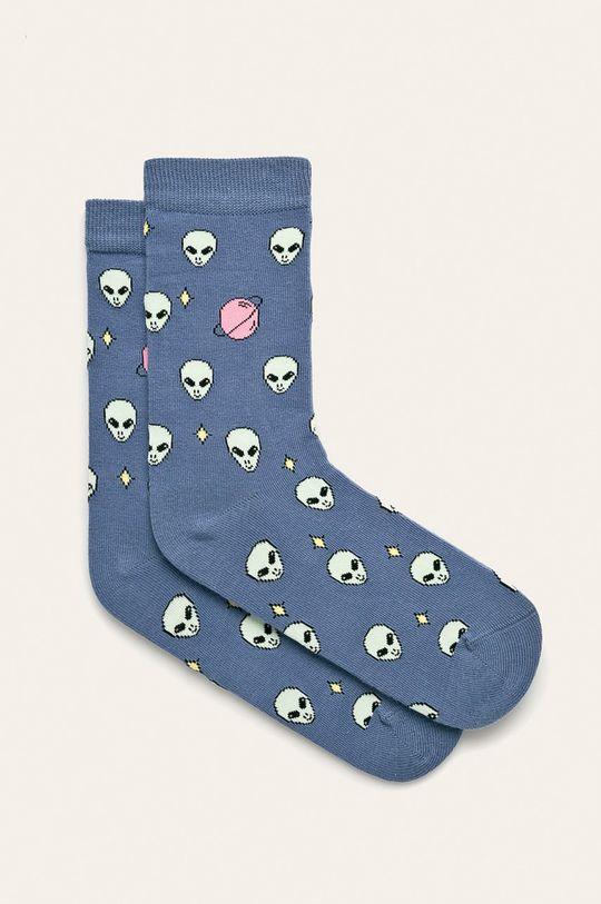 modrá John Frank - Ponožky Dámsky