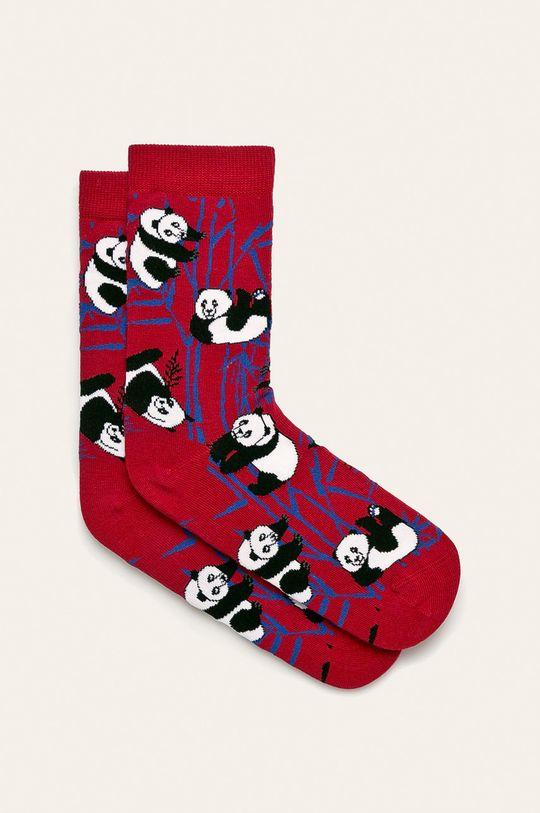 červená John Frank - Ponožky Dámsky